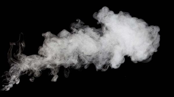電子タバコ煙の量