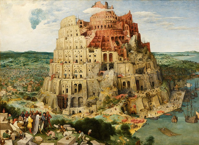 ブリューゲル・バベルの塔