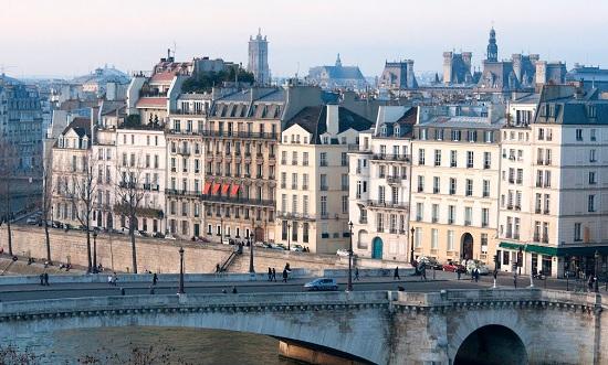 パリ高級住宅地