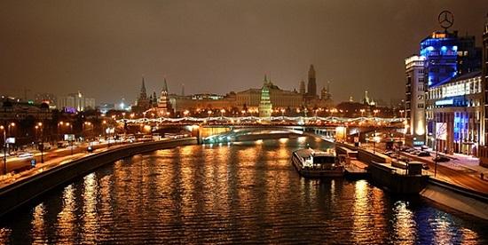 モスクワ高級住宅街