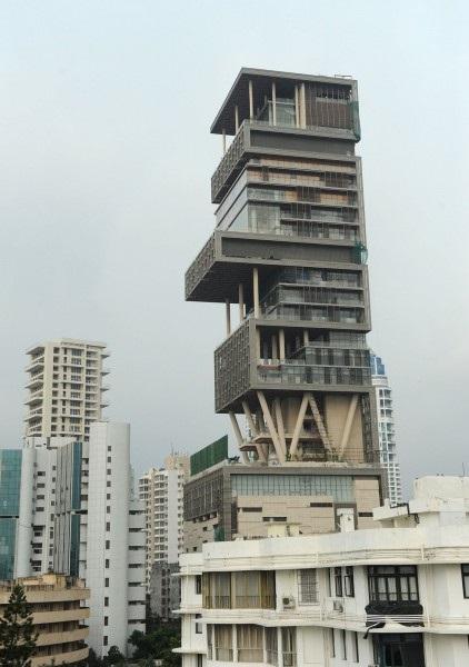 ムンバイ豪邸