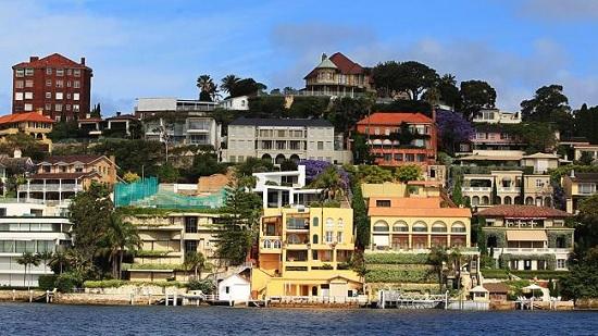 シドニー高級住宅地