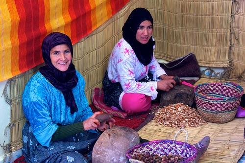 モロッコ女性